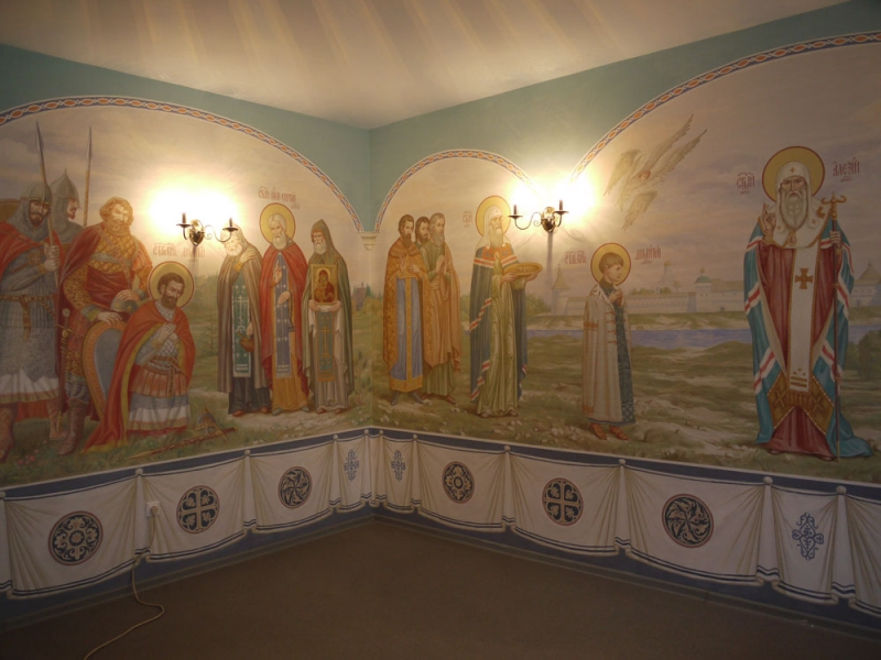 Храм свтт. Алексия, митрополита Московского