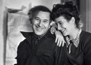Шагал с дочерью Идой