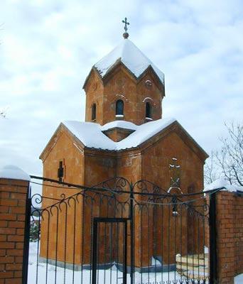 Часовня Георгия Победоносца в Москве