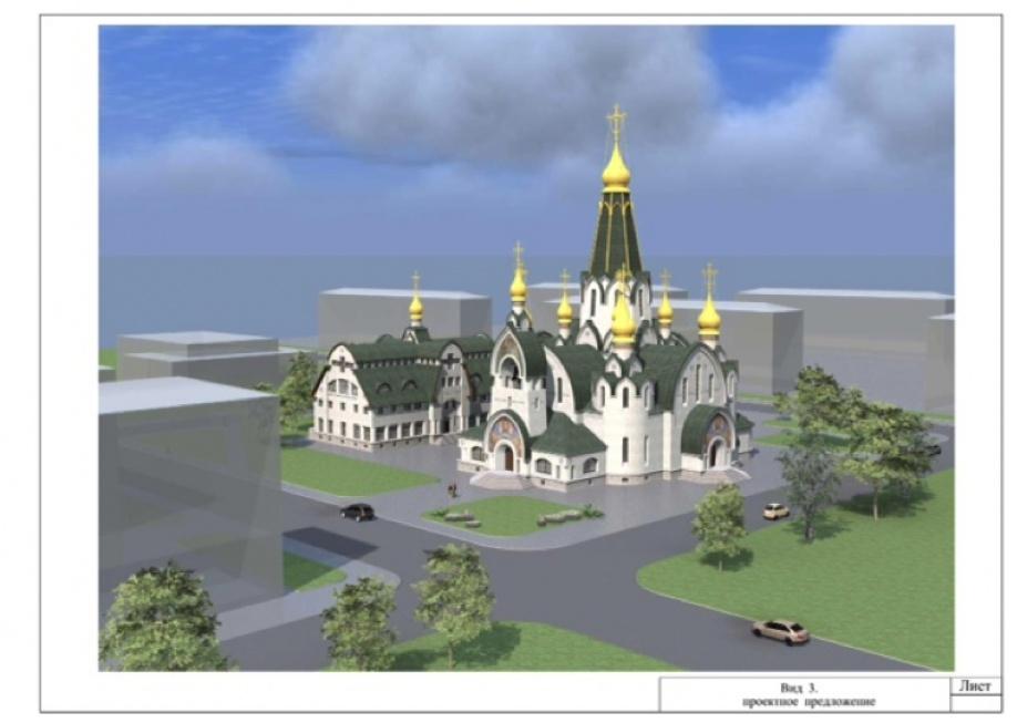 Храм св. прп. Саввы Сторожевского