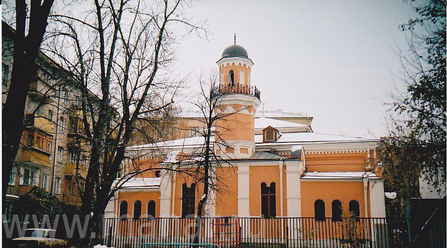 Историческая мечеть на Большой Татарской