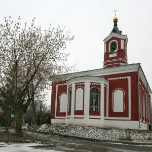 Храм Троицы Живоначальной в Борисово