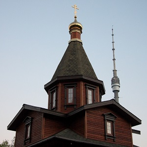 Храм св. кнг. Ольги в Останкино