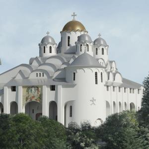 Храм Преображения Господня в Старом Беляеве