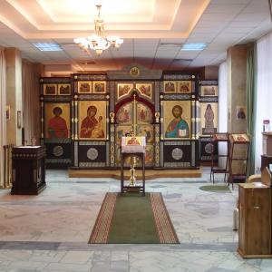 Храм Иверской иконы Божией Матери при ФГБУ РНЦРР
