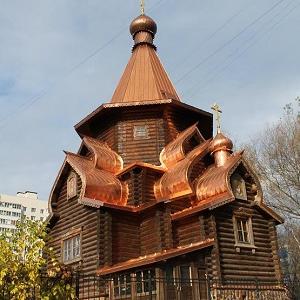 Храм митр. Алексия Московского в Раеве