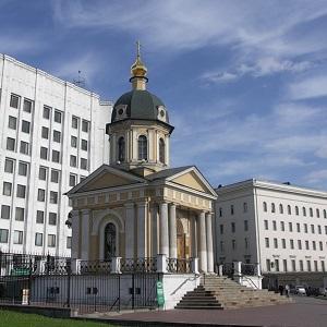 Храм Бориса и Глеба на Арбатской площади