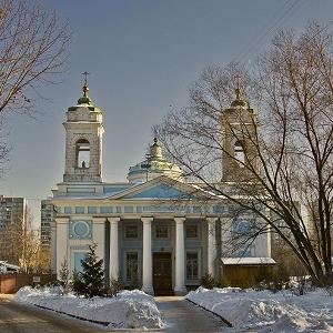 Храм Святого Духа на Лазаревском кладбище