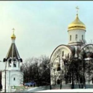Храм Евфросинии Московской в Котловке