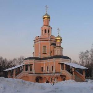 Храм Бориса и Глеба в Зюзине