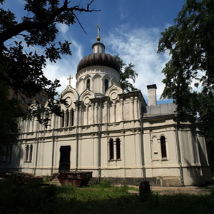 Храм прп. Алексия, человека Божия в Красном селе