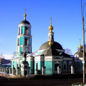 Храм Троицы Живоначальной в Карачарове