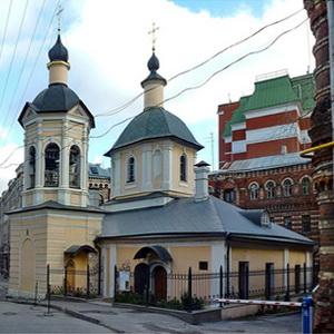Храм Сергия Радонежского в Крапивниках