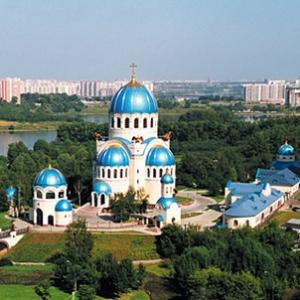 Храм Троицы Живоначальнрй в Орехово-Борисове