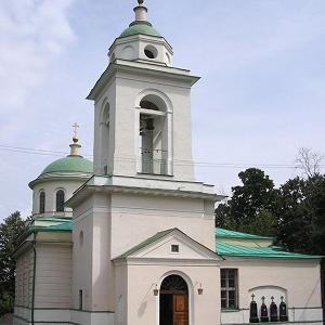 Храм Святого Духа на Даниловском кладбище