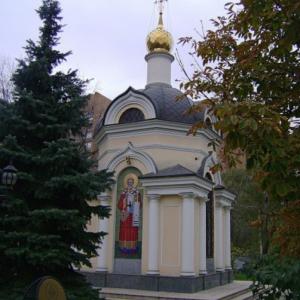 Часовня свт. Николая Мирликийского