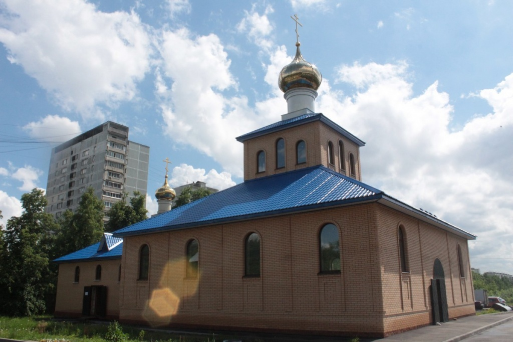 Храм Благовещения Пресвятой Богородицы в Царицыне
