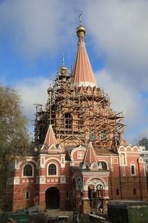 Храм Всех Святых на Филевской Пойме