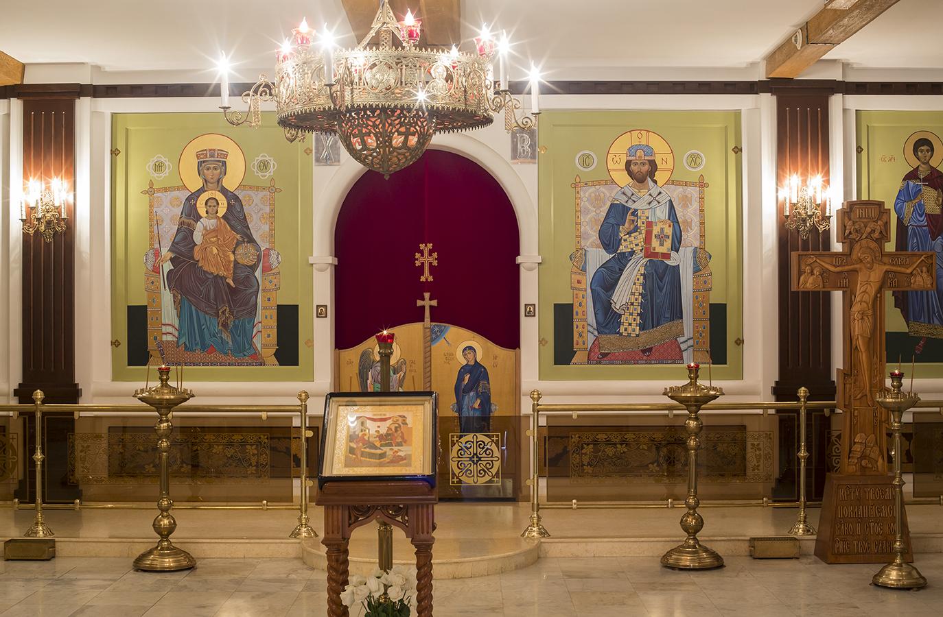 Домовый храм св. мученика Порфирия Ефесского