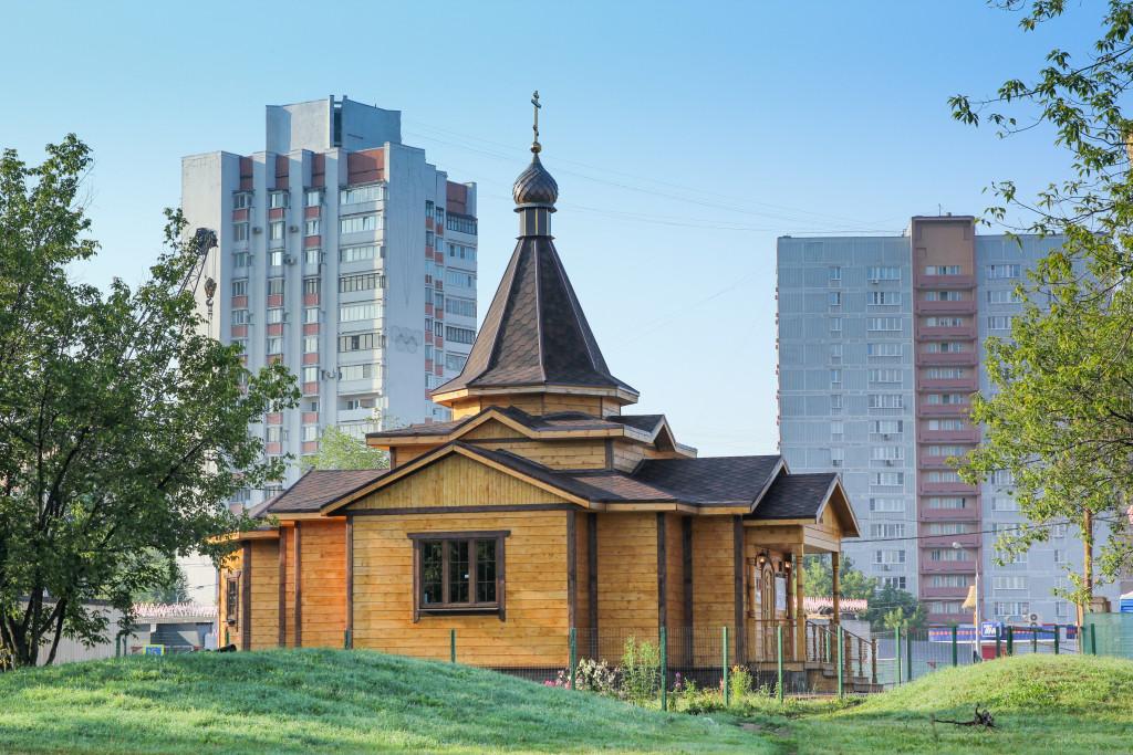 Храм Андрея Боголюбского на Волжском