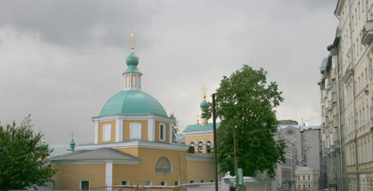 Храм святителя Николая Мирликийского в Старом Ваганькове