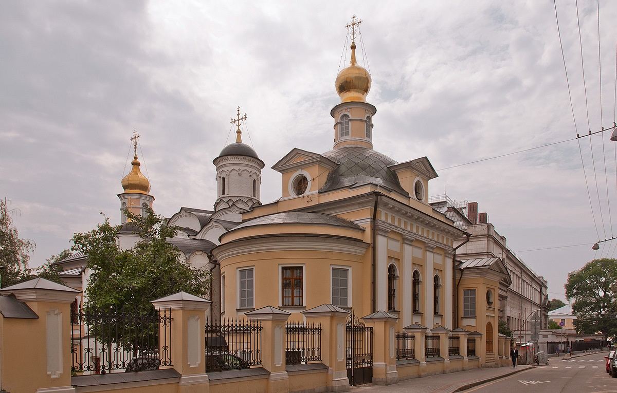 Храм св. Антипы на Колымажном дворе