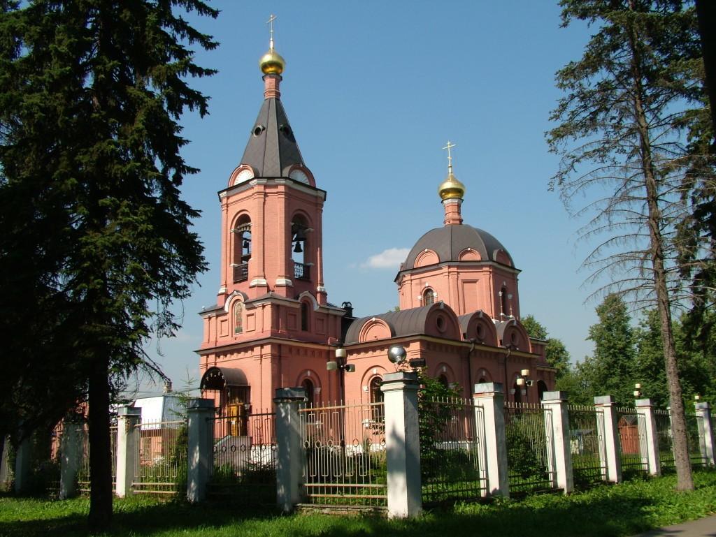 Храм Димитрия Солунского в пос.Восточный