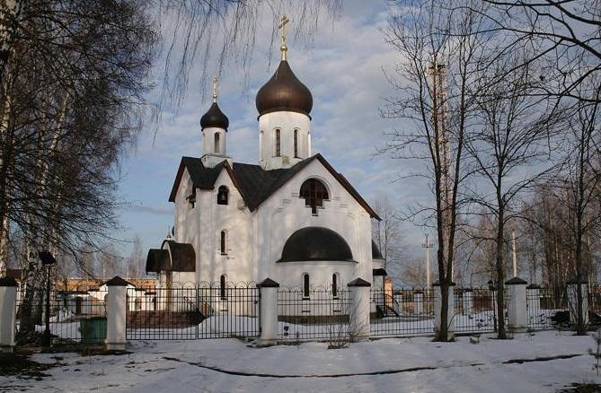 Храм Новомучеников Подольских