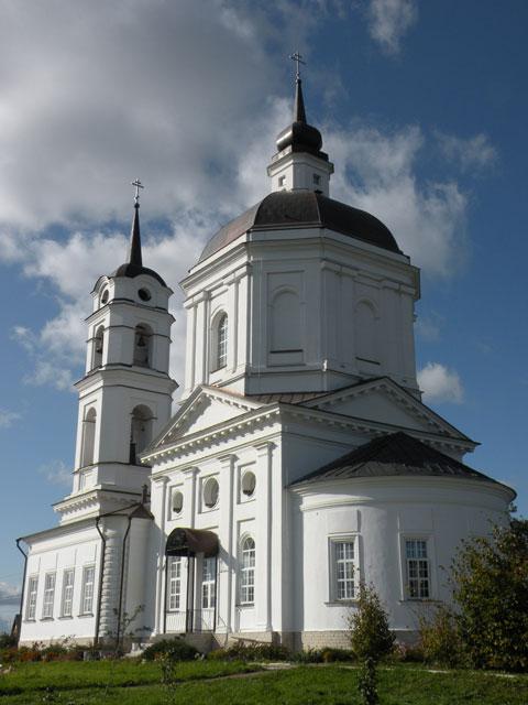Храм Николая Чудотворца в Клёново