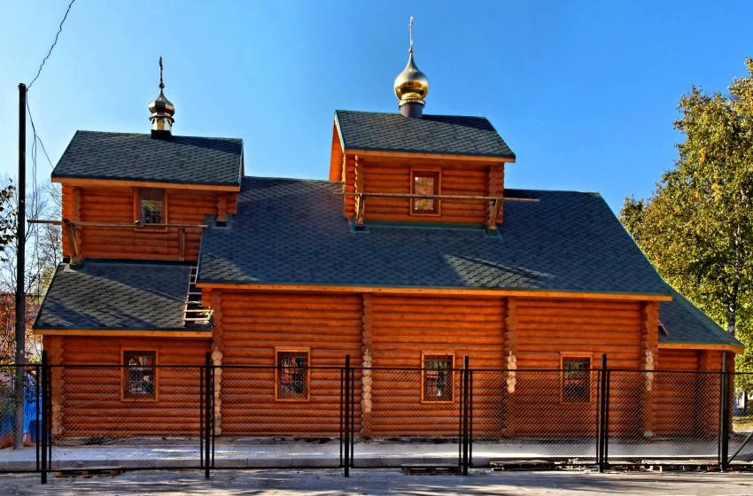 Храм преподобных отцев Киево-Печерских