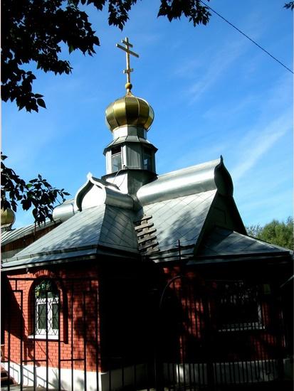 Храм прп. Серафима Саровского в Кунцеве