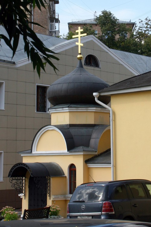 Храм Богоявления Господня на Соколе