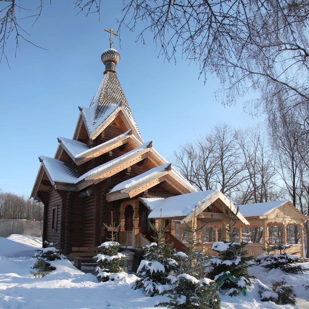 Храм-часовня Александра Невского в Говорово