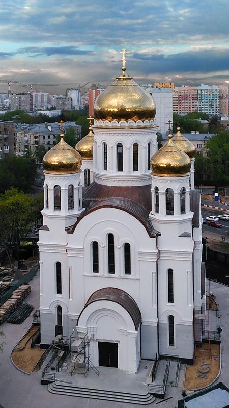Храм Иоанна Русского в Кунцеве
