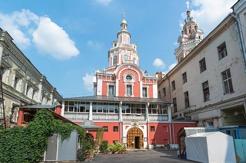 Заиконоспасский мужской монастырь