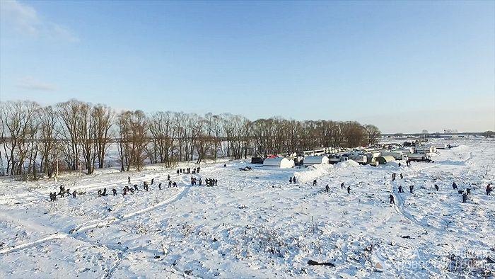 Место крушения Ан-148. Фото: РИА Новости / МЧС РФ