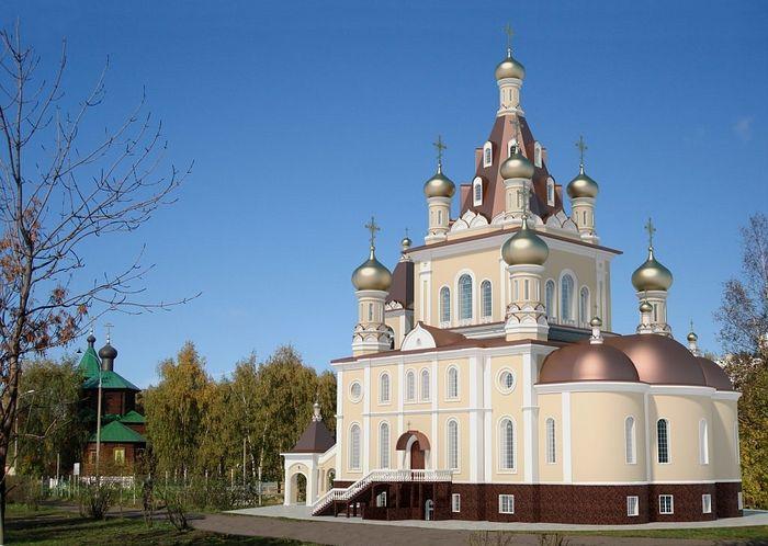 Макет храма. Фото: портал Стройкомплекса Москвы