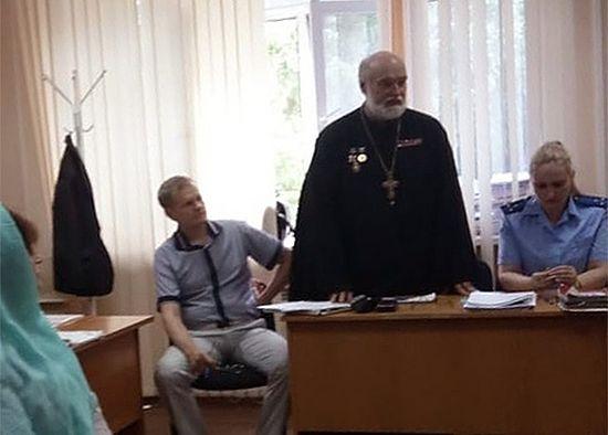 Речь благочинного церквей Новосибирска, настоятеля собора во имя святого благоверного князя Александра Невского, протоиерея Александра Новопашина