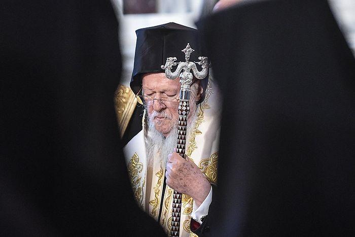 Патриарх Константинопольский Варфоломей. Фото: AFP 2018 / Ozan Kose