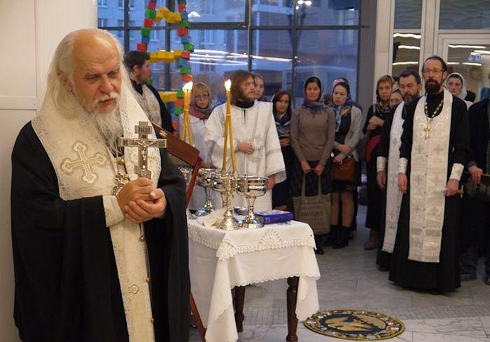 Викарий Святейшего Патриарха обратился к присутствующим со словами утешения и поддержки