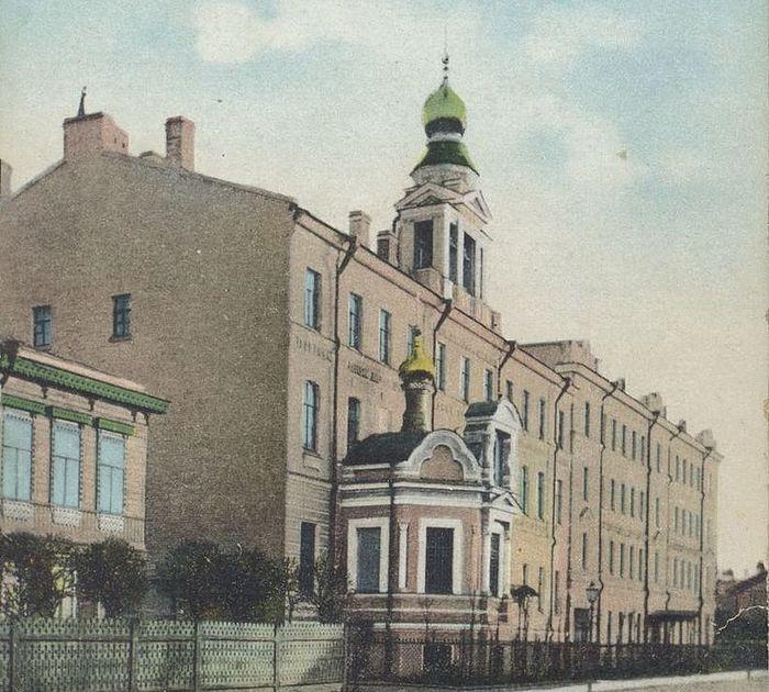 Дом трудолюбия в Кронштадте. Почтовая открытка, ок. 1900 г.